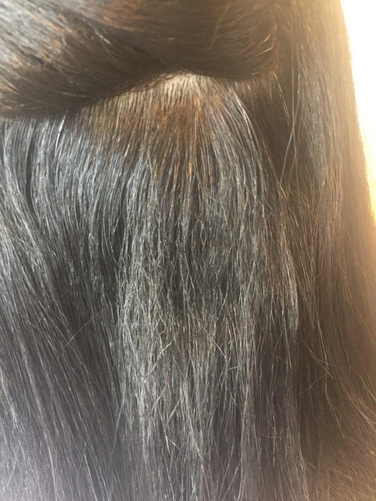 髪は減点方式