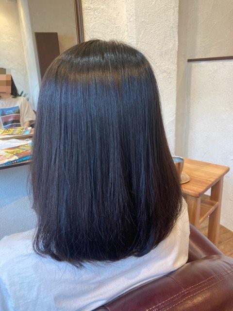 扱いやすい髪